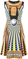 Mary Katrantzou Eirene skater dress - women - Viscose/Spandex/Elastane/Silk - 8