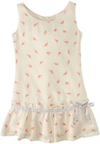 Appaman Flounce Dress (Toddler/Kid) - Birds-5