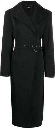 Karl Lagerfeld Paris x Carine Roitfeld taffeta coat