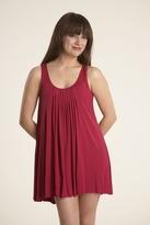 Velvet Sanni Dress in Cherry