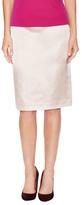 Lafayette 148 New York Silk Piped Trim Pencil Skirt