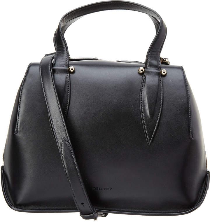 DELPOZO Benedetta Small Leather Satchel