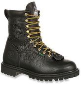 Georgia Boot Men's 8-Inch Lace-To-Toe Vibram Lug WP