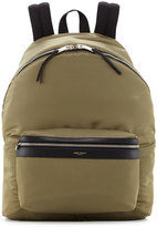Saint Laurent Men's Solid Nylon Backpack