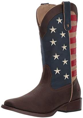 Roper Women's American Patriot Western Boot 9 D US