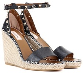 Valentino Garavani Rockstud leather espadrille sandals