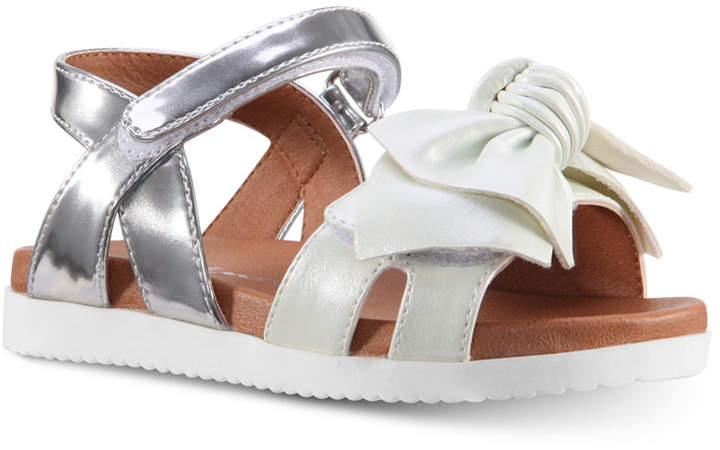 Nina Ankle-Strap Bow Sandals, Toddler & Little Girls & Big Girls