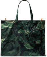 Alexander McQueen - Camouflage-Print Shell Tote Bag