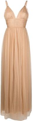 Maria Lucia Hohan Fabiana sequin-embellished tulle maxi dress