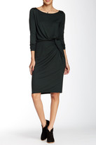 Three Dots Boatneck Knot Dress