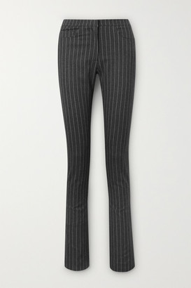 16Arlington Wallis Pinstriped Woven Slim-leg Pants