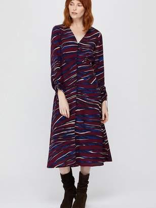 Monsoon Lexi Print Midi Dress