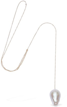 Sophie Bille Brahe 41cm Sirene Necklace With Pearl