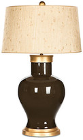 Barclay Butera For Bradburn Home Cleo Seagrass Table Lamp - Chocolate/Gold