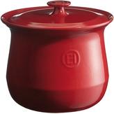 Emile Henry Flame Ceramic Stockpot - Red