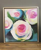 Boston Warehouse Roses Framed Print