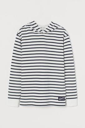 H&M Striped hoodie