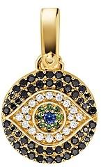Michael Kors Custom Kors 14K Gold-Plated Sterling Silver Evil Eye Charm
