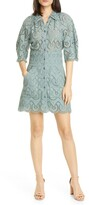 Rebecca Taylor Mina Cotton Eyelet Minidress