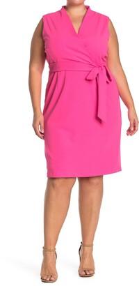 Alexia Admor Savannah Wrap Sheath Dress
