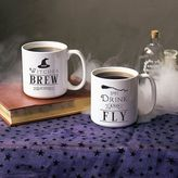 Cathy's Concepts Cathys concepts Witches Brew Large Coffee Mug Set