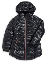 Hawke & Co Girl's Hooded Puffer Jacket