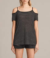 AllSaints Tyra Stripe Top