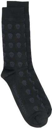 Alexander McQueen Skull-Motif Socks