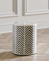 Interlude Carmelita Side Table