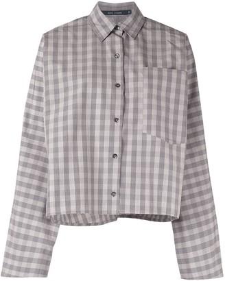 Sofie D'hoore Check-Pattern Cotton Shirt