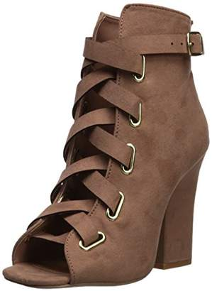 Qupid Women's LITE-04 Heeled Sandal