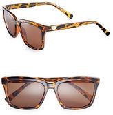 Calvin Klein 55mm Flat Top Wayfarer Sunglasses