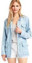 Gap 1969 Tencel® denim relaxed utility jacket