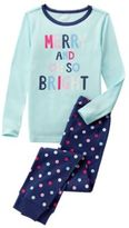 Crazy 8 Oh So Bright 2-Piece Pajama Set