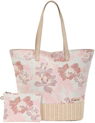 The Sak Sakroots Horizon Tote Handbag with Removable Pouch