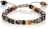 M. Cohen Men's Beaded Cord Bracelet-BROWN