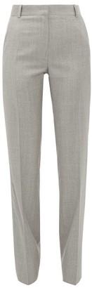 Pallas Paris Elite High-rise Wool Trousers - Grey
