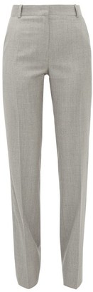Pallas X Claire Thomson Jonville X Claire Thomson-jonville - Elite High-rise Wool Trousers - Womens - Grey