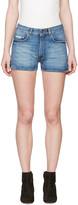 Alexachung Blue Denim Hot Pants