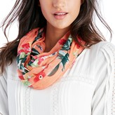Sole Society Elongated Tropical Print Scarf