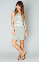 MUMU Andrew Tunic Tank ~ Waterfalls Graphic