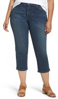 NYDJ Plus Size Women's Marilyn Stretch Capri Jeans