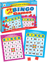 Multiplication & Division Bingo