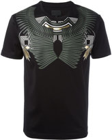 Les Hommes geometric chest print T-shirt - men - Cotton - XS