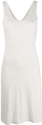 Max & Moi V-neck midi dress