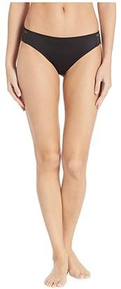 Maidenform Comfort Devotion Lace Back Tanga (Black) Women's Underwear