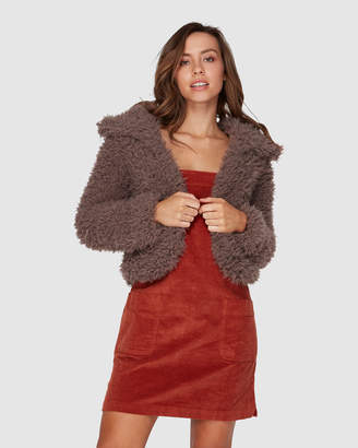 Billabong Faux Fur Keeps Jacket