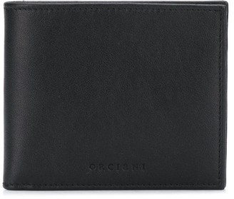Orciani Logo Embossed Wallet