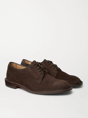 Tricker's Robert Suede Derby Shoes