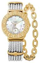 Charriol Women's St-Tropez 30mm Steel Bracelet Quartz Watch St30cy1.560.022